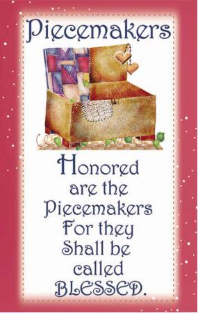 Sisterhood of Quilters Magnet - Piecemakers