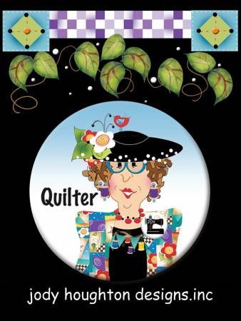 Quilter Button 2-1/4in diameter
