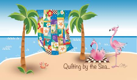 Quilting by the Sea Gift Magnet