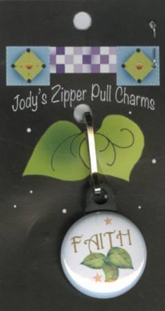 Faith Zipper Charm