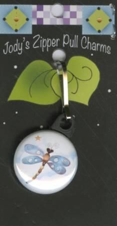Dragonfly Zipper Charm