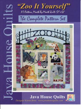 *Zoo It Yourself Block of the Month Complete Set - JHQ198
