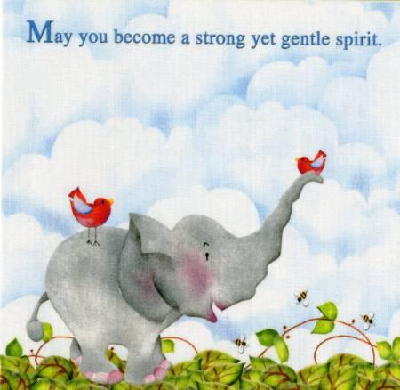 Quilt Labels Joy Elephant 2 per pack