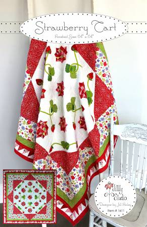 Strawberry Tart Quilt Pattern by Jillily Designs
