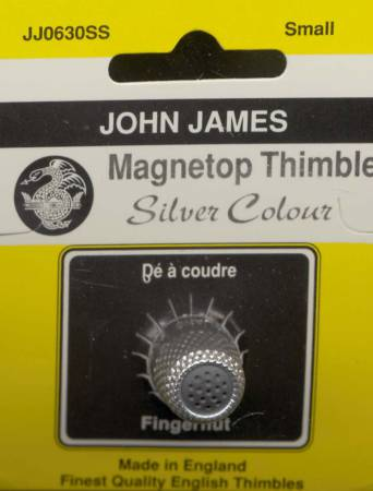 Magnet Top Thimble Silver Size Small