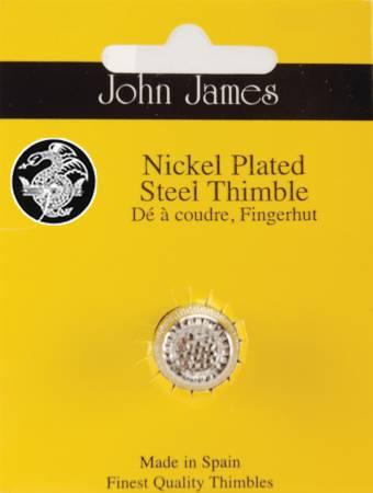 Dome Top Thimble Nickel Medium