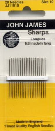 John James Sharps Needle Size 10 20ct