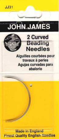 John James Curved Beading Needles
