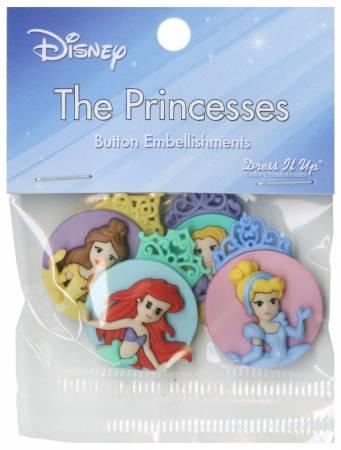Disney Princess Button Pack