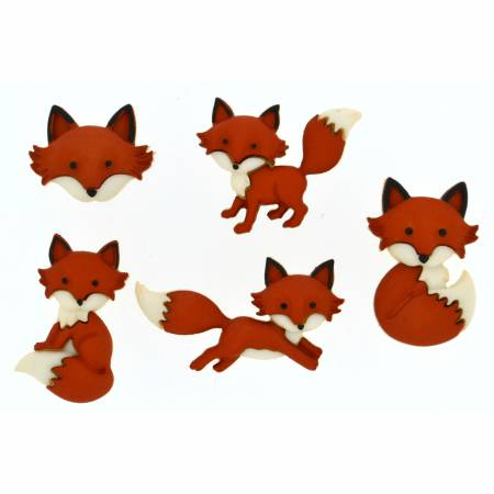Outfoxed Button Pack -  8293