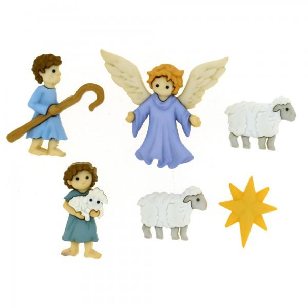 The Good Shepherd Button Pack - 8816