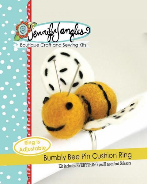 Bumbly Bee Pin Cushion Ring Kit