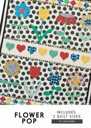 Flower Pop  Jen Kingwell Pattern