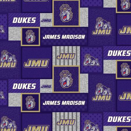60 Fleece JMU James Madison Dukes College Patch