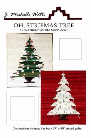 Oh, Stripmas Tree Quilt Pattern