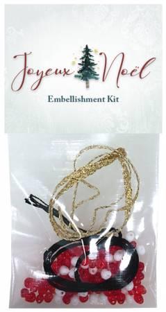 Joyeux Noel Embellishment Kit