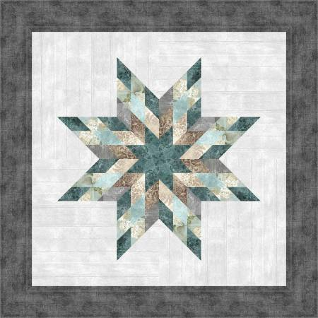 Quilt Kit Farmhouse Star 40in x 40in