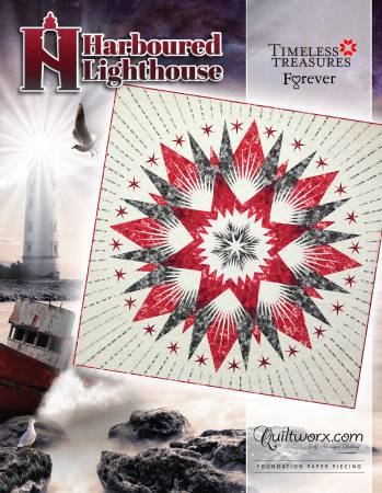 Harboured Lighthouse Quilt Pattern by Judy Niemeyer for Quiltworx