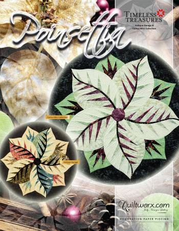 Poinsettia Paper Piecing