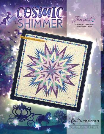 Cosmic Shimmer Paper Piecing Pattern 68 x 68