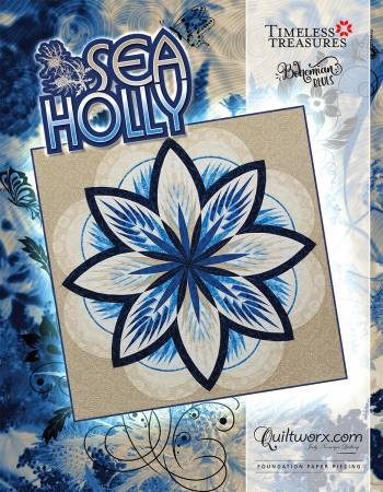 Sea Holly - JNQ134P3-WSAS - MAY BE RESTOCKED UPON REQUEST