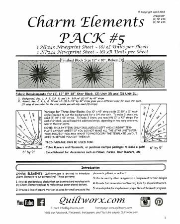 Charm Elements Pack 5