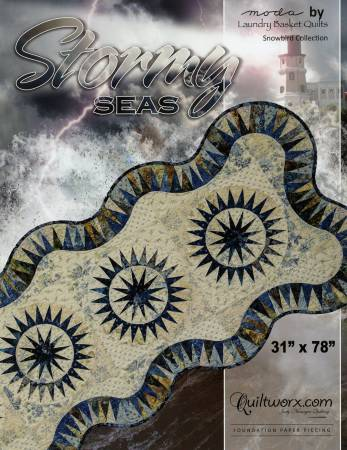 Stormy Seas Table Runner