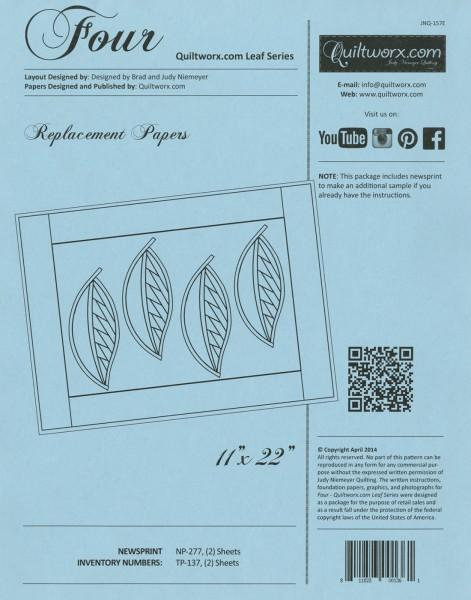 Extra Paper Four - Quiltworx Leaf Series