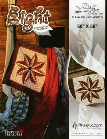 Eight - Quiltworx Leaf Series