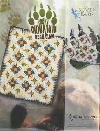 Rocky Mountain Bear Claw Quilt Kit