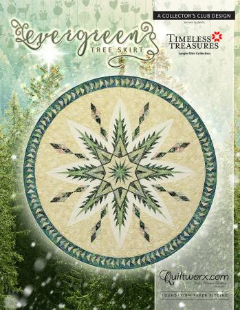 Quiltworx Evergreen Tree Skirt pattern