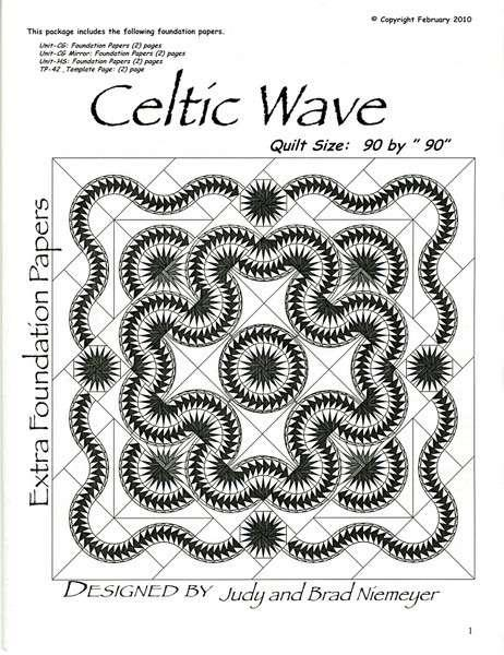 Celtic Wave Extra Foundation Paper