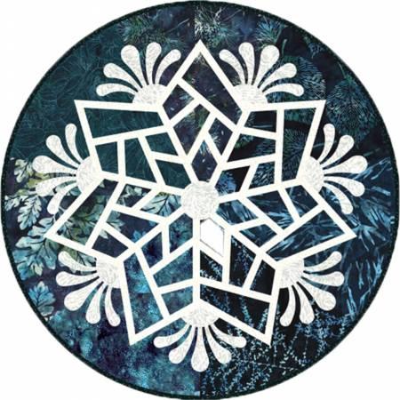 Scandinavian Snowflake 20 Round  Kit - Teal (Makes 4)
