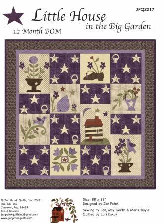 Little House In The Big Garden Quilt Pattern By Jan Patek