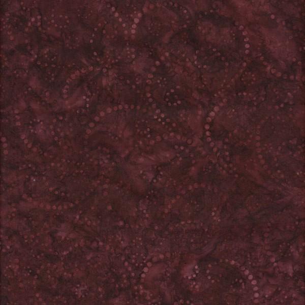 FWD Burgundy Swirls 108in Wide Batik