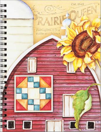 Nancy Mink's Art Quilt Prairie Lined Pages Journal