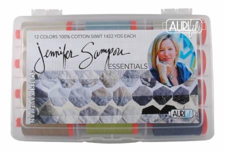 Jennifer Sampou Essentials Thread Collection 50wt 12 Large Cotton Spools