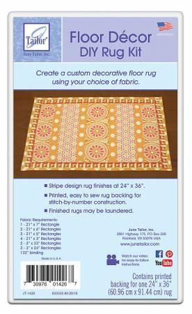 Floor Decor -- DIY Rug Kit -- Stripes Small
