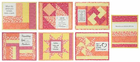 Inspirational Mug Mats -- Quilty Fun
