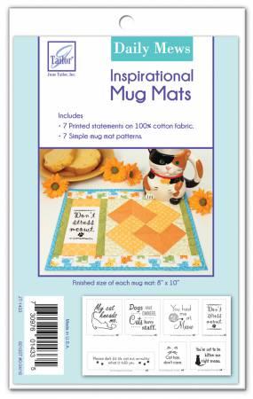 Inspirational Mug Mats - Daily Mews