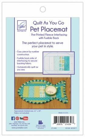Quilt As You Go Pet Placemat Cats