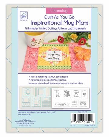 Quilt As You Go Inspirational Mug Mat Charming Series