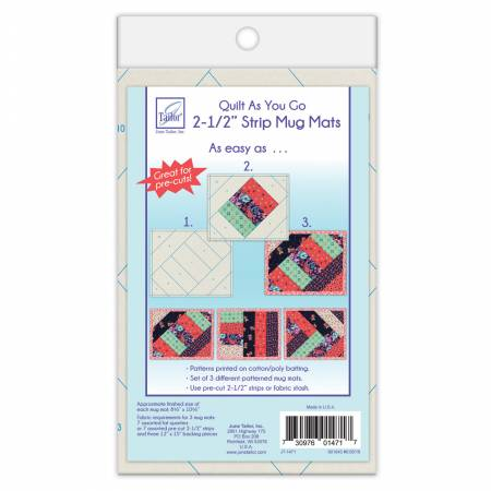 Quilt As You Go Mug Mat 2-1/2in Strips