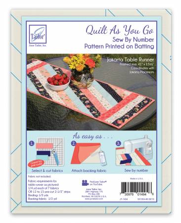 QUILT AS YOU GO TABLERUNNER JT-1494