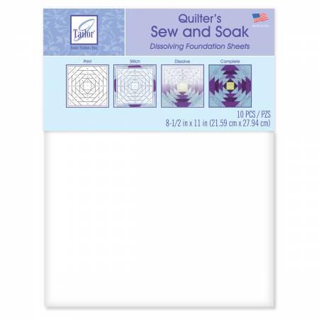 Stitch n Wash Foundation Sheets 10ct