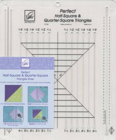 Perfect 1/2 Square &  1/4 Square Triangles