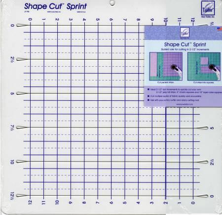 Shape Cut Sprint Ruler