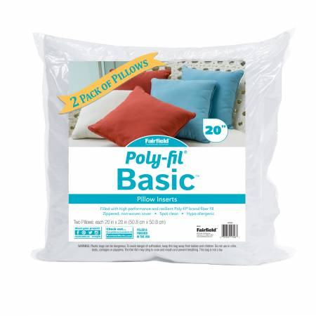 Poly-Fil Basic Pillow Insert 20in x 20in