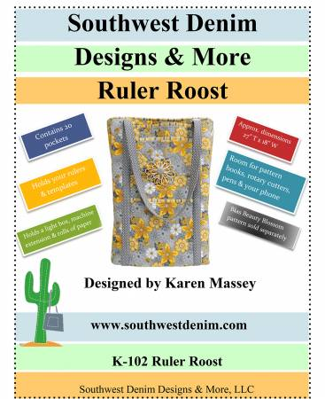 Ruler Roost Bag Pattern - K102