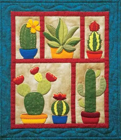 Succulents Wall Quilt Kit